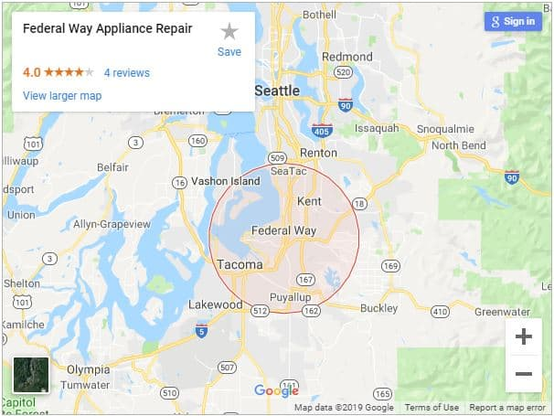 Appliance Repair Federal Way Wa 253 201 1384